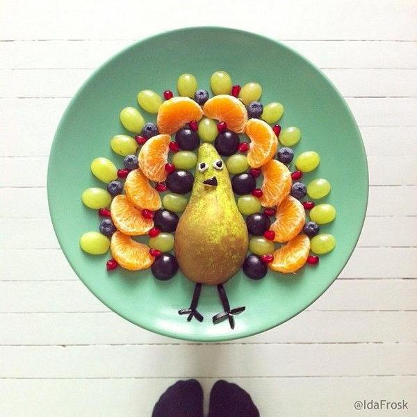 Peacock Edible Arrangement