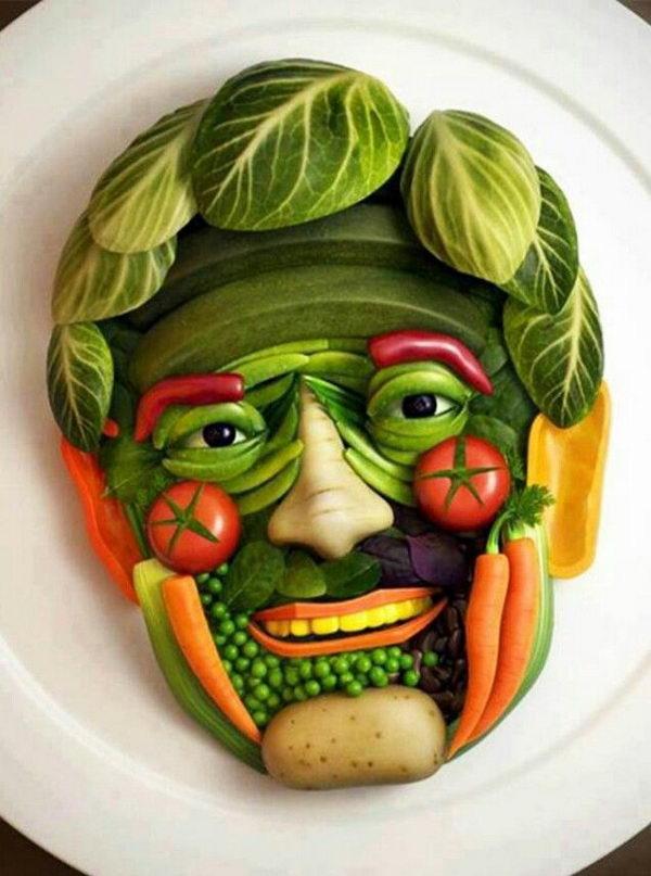 Make Food Fun: Funny Face Edible Arrangement