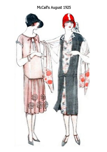 1920s Fashion Sketch. The 1920s is the decade in which fashion entered the modern era. Women first abandoned the more restricting fashions of past years and began to wear more comfortable clothes (such as short skirts or trousers).
