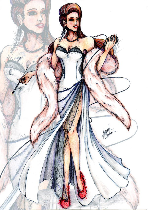 Fashion Sketch by Yanick Monteiro.