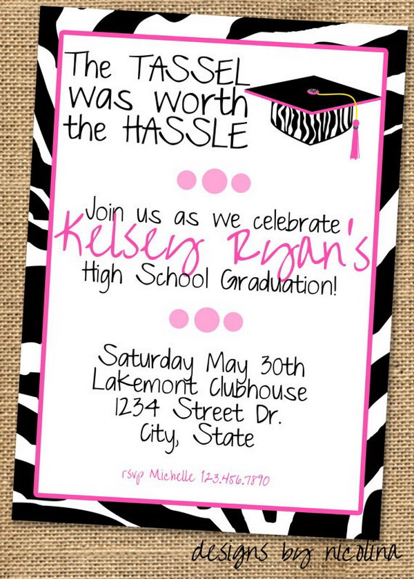 invitation graduation party