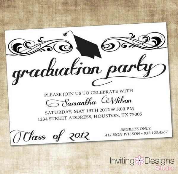 Graduation Party Invitation,