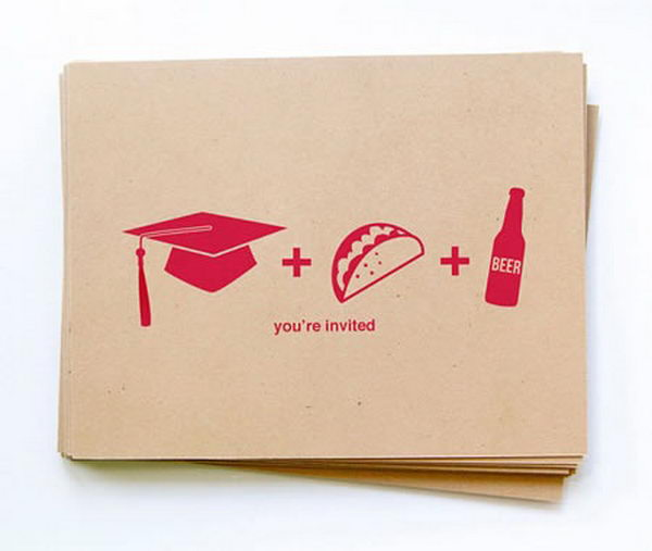 10+ Creative Graduation Invitation Ideas - Hative