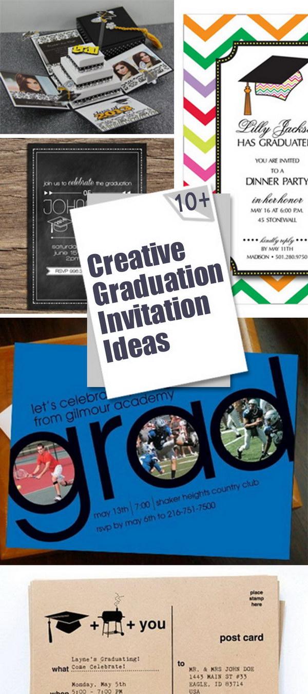 Creative Graduation Invitation Ideas!
