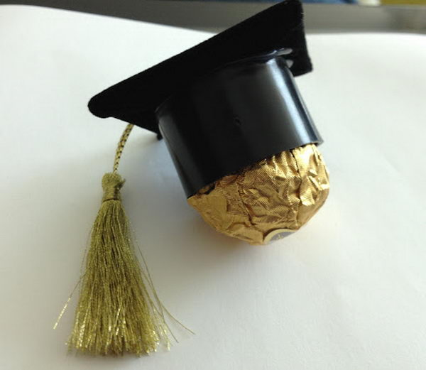 Chocolate Graduation Favor,