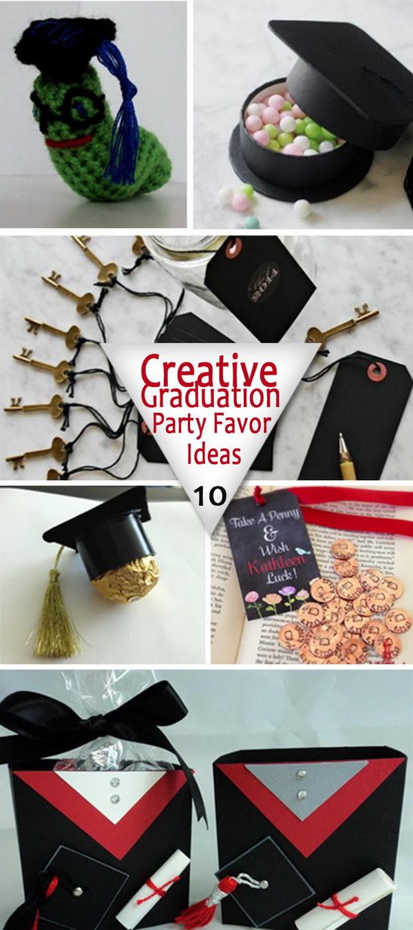 Creative Graduation Party Favor Ideas!