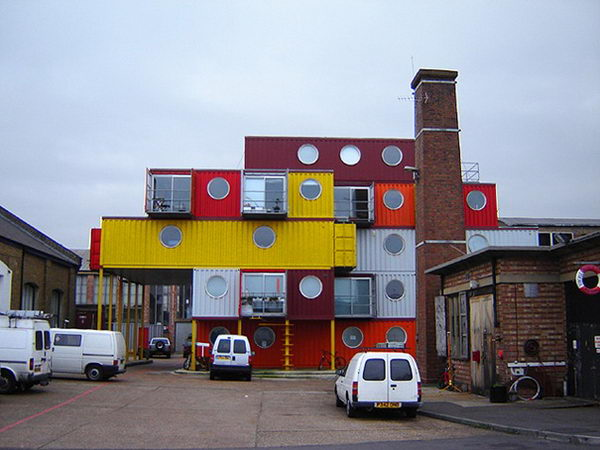 Container City (London, United Kingdom).