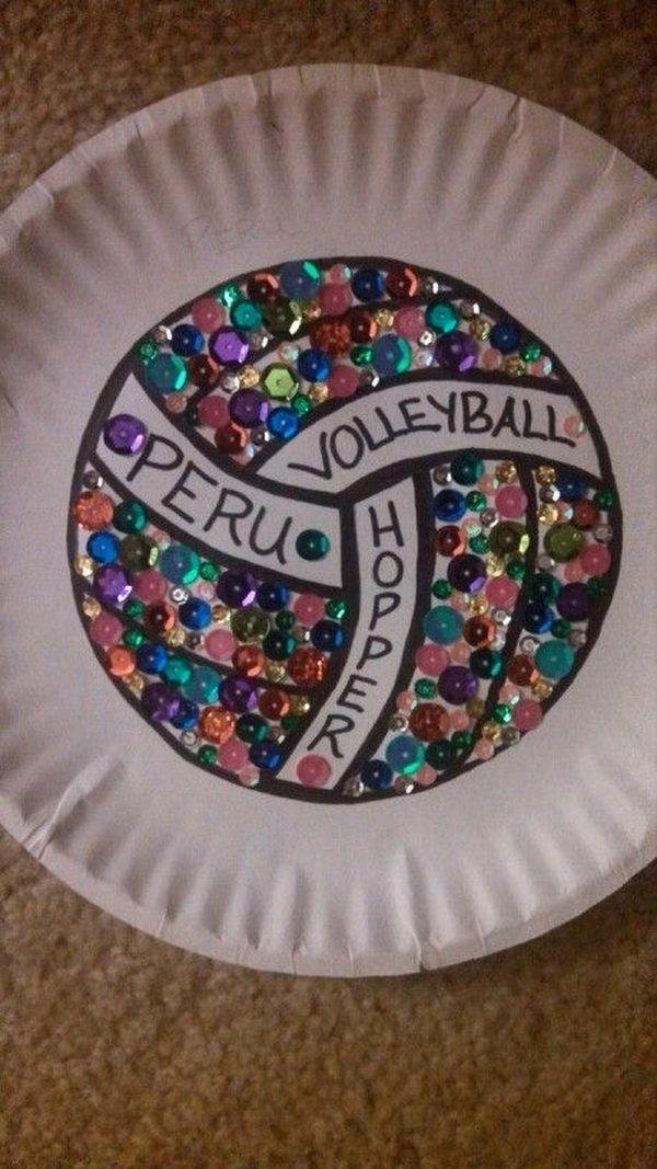 volleyball craft ideas 10 cool locker decoration ideas hative 3195