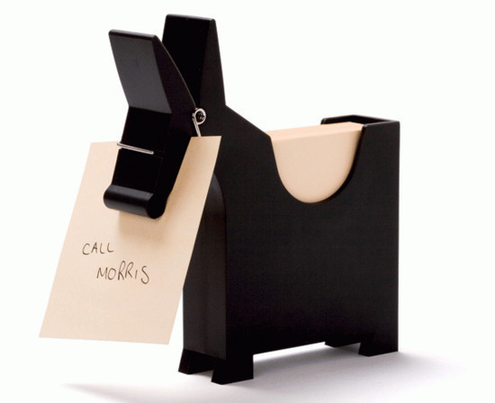 Wedding Gift Ideas For Office Colleagues : Morris the Memo Holder. When you need to remember something you simply ...
