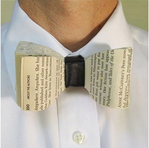 Old Books Bow Tie,