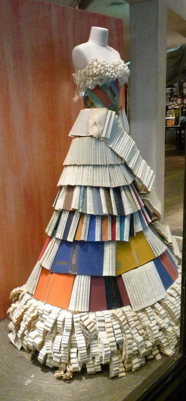 Book Dress,