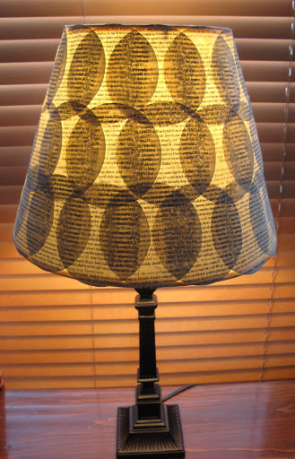 Book Page Lamp,