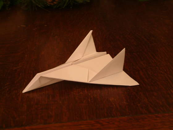 Thunder Bomber  This is one of the very best of paper aeroplanes  it    How To Make Cool Paper Airplane Designs