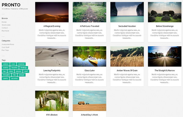 35 Free and Commercial Pinterest Like WordPress Themes - Hative