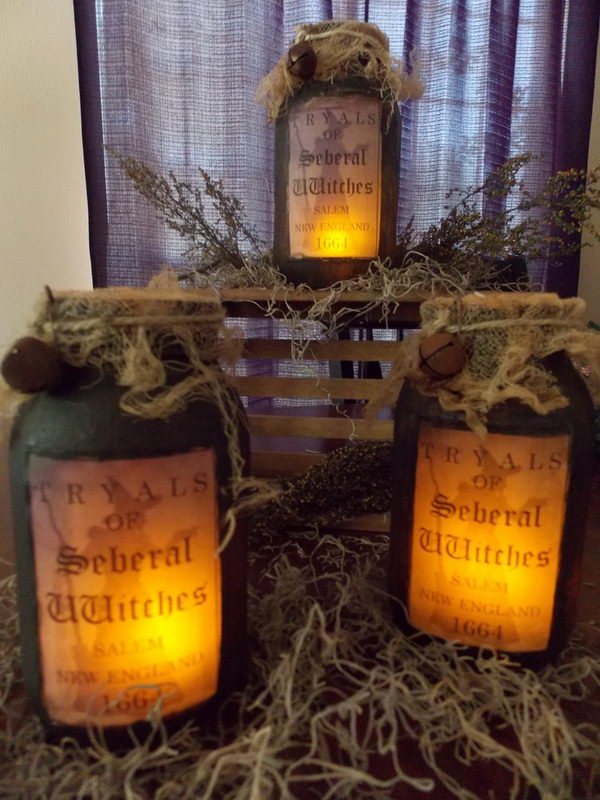 Primitive Mason Jar Lighting,