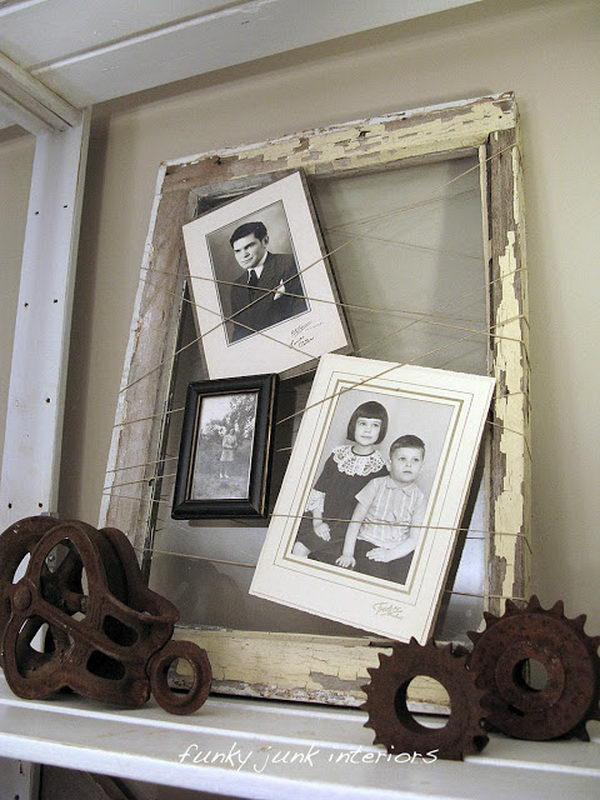 Primitive Picture Frame,