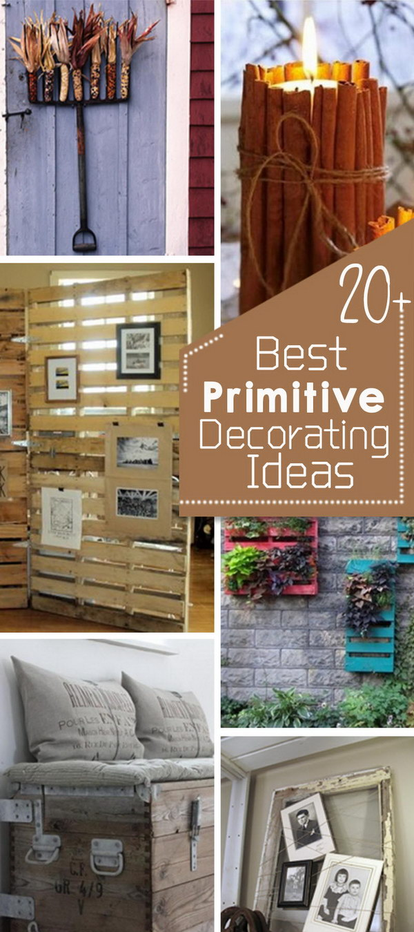 Primitive Decorating Ideas For Living Room Pictures to pin on ...
