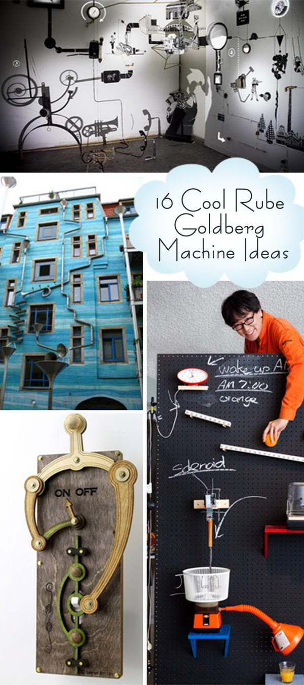 Cool Rube Goldberg Machine Ideas!
