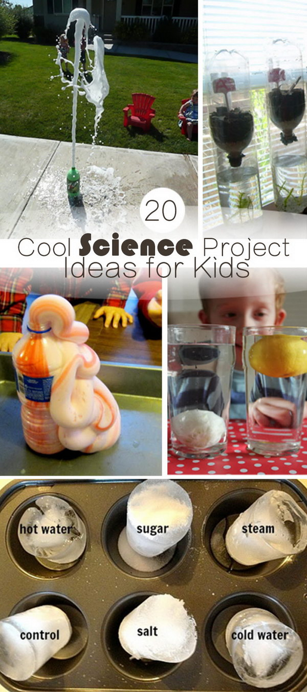 20 cool science project ideas for kids - hative