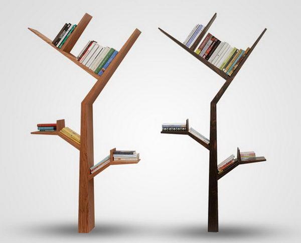 Tree Bookcase Decorative Shelving,