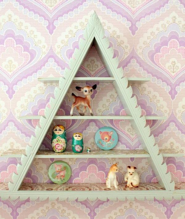 Vintage Display Shelf,