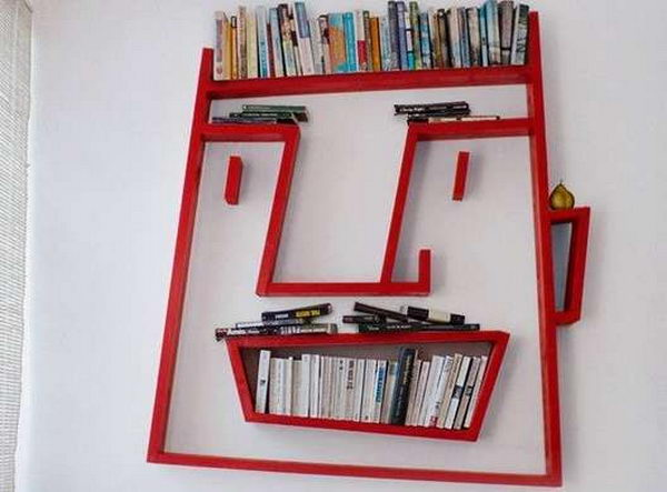 face shelving idea - Cool Shelving Ideas