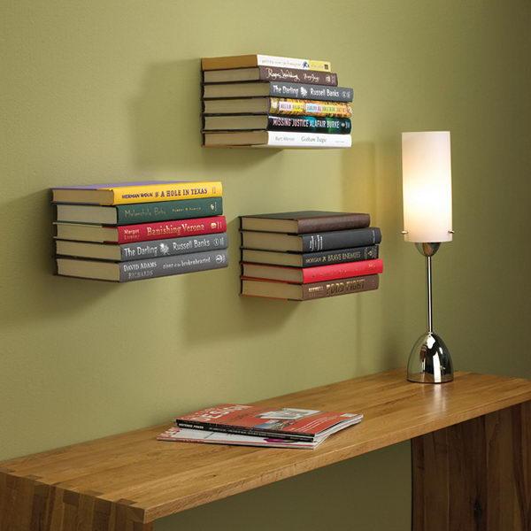 Invisible Bookshelf,