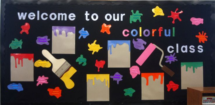 Welcome To Our Colorful Class.
