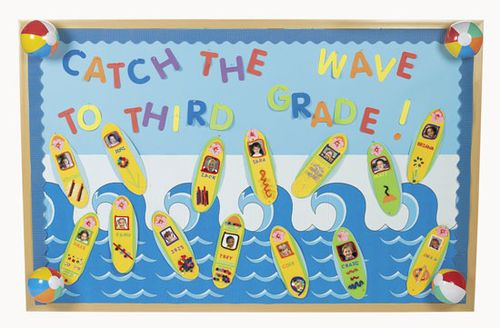 waves of fun bulletin board
