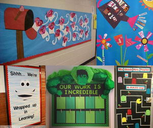 bulletin board ideas collage