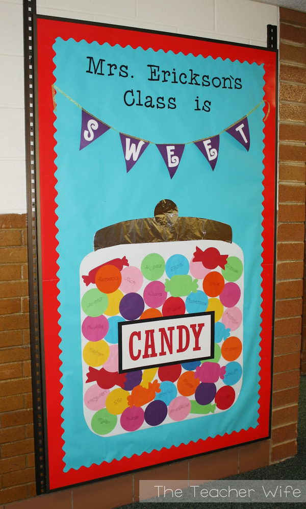 Pre k bulletin board ideas first day of school bulletin for Back to school board decoration