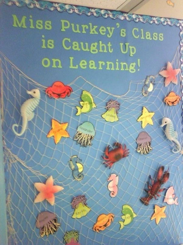 Under the Sea Bulletin Board.