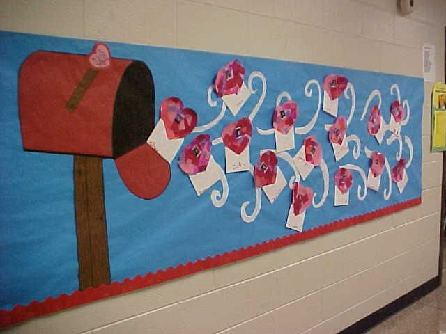 Valentineu0027s Bulletin Board. Make Hearts Displaying Studentsu0027 Photos And  Beneath It Have Other Students