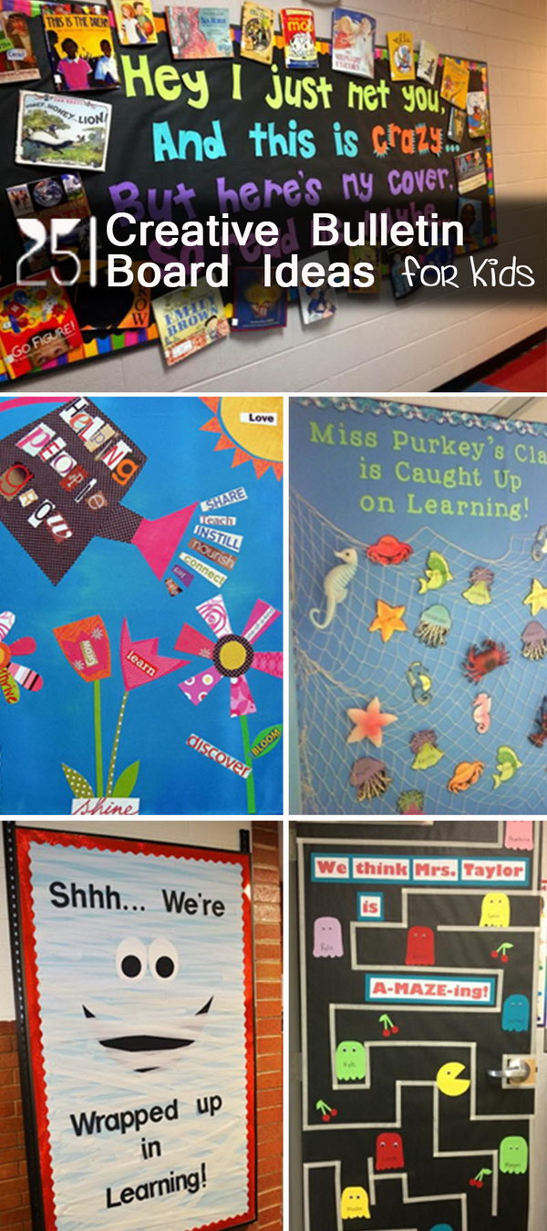 Classroom Decoration Ideas For Public High School ~ Creative bulletin board ideas for kids hative