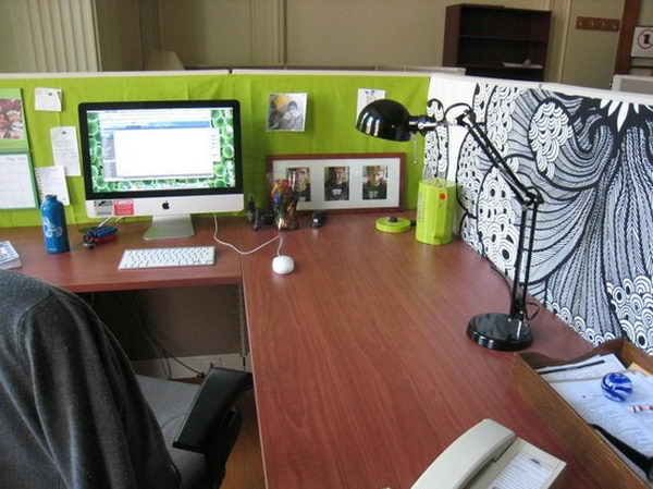 Cubicle Decorating Ideas Captivating 20 Creative Diy Cubicle Decorating Ideas  Hative Review