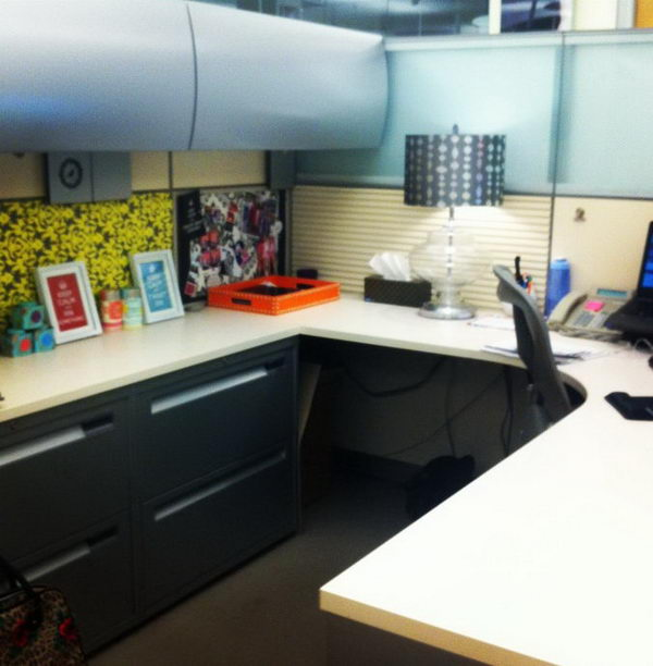 Awesome Decorating An Office Cubicle Takes On New Meaning When It Comes To You Having  Here Are Some Quick Decorating Ideas 1 Add Some Green Plants Or Flowers Working The 40hour Shift Can Perpetuate Stress Or Sap The Life Out Of You