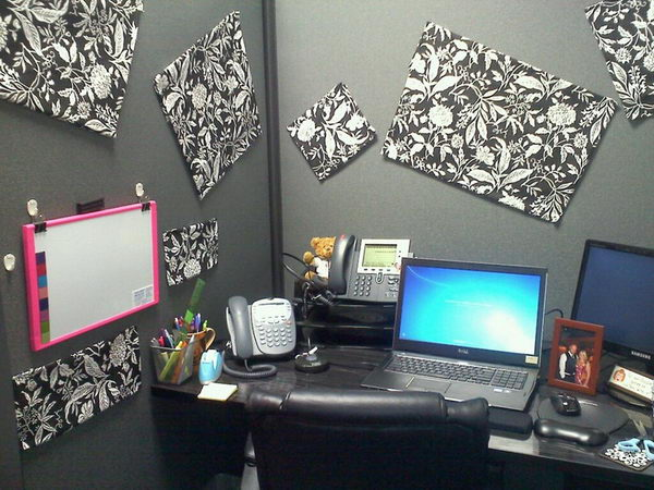 Diy home office ideas joy studio design gallery best Office cubicle design ideas