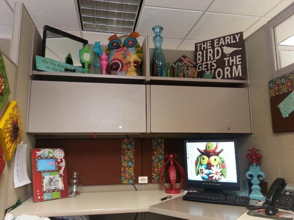DIY Cubicle Decorations Which Bring Your Personal Touch, Energy And  Atmosphere To Your Work Space