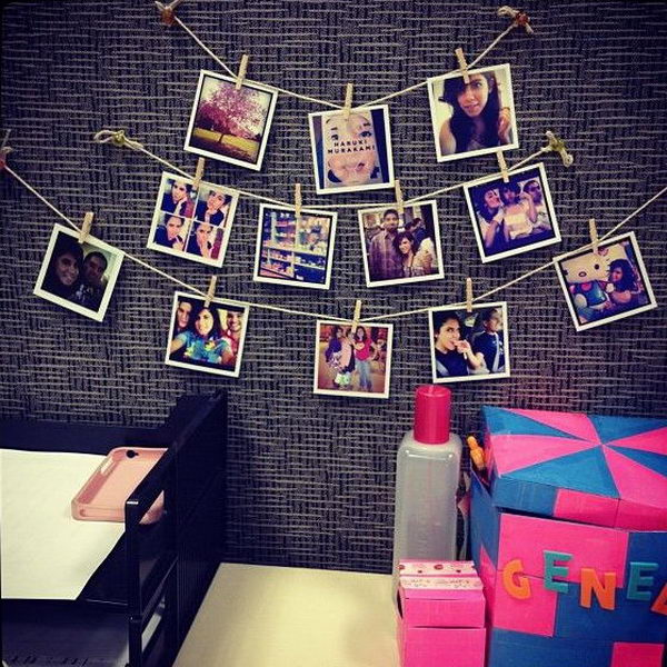 20 creative diy cubicle decorating ideas hative for How to decorate office desk