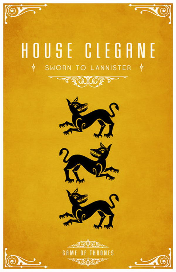 20+ Game of Thrones House Mottos and Sigils - Hative