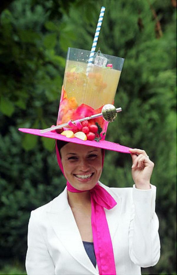 Шляпа коктейль своими руками 100