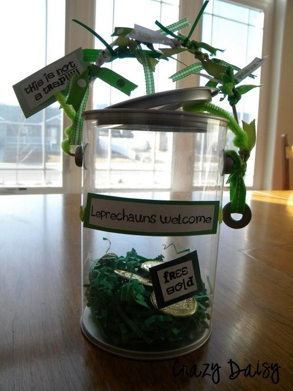 10 Cool Diy Leprechaun Trap Ideas Hative