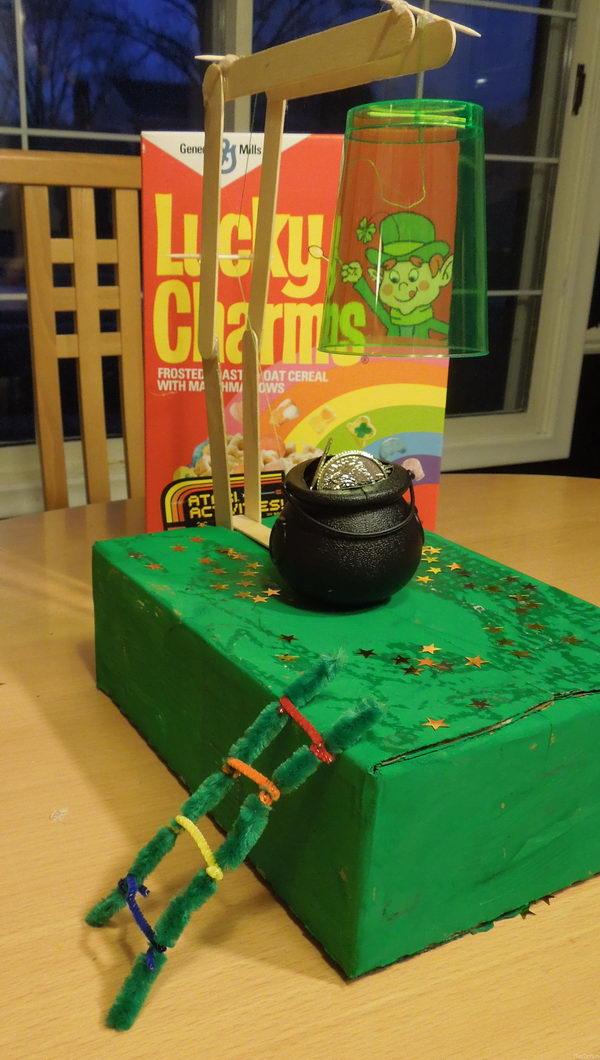 simple machine leprechaun trap