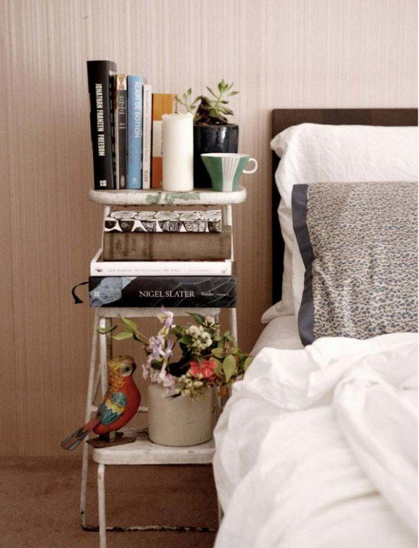 30 creative nightstand ideas for home decoration hative for Bedside decoration
