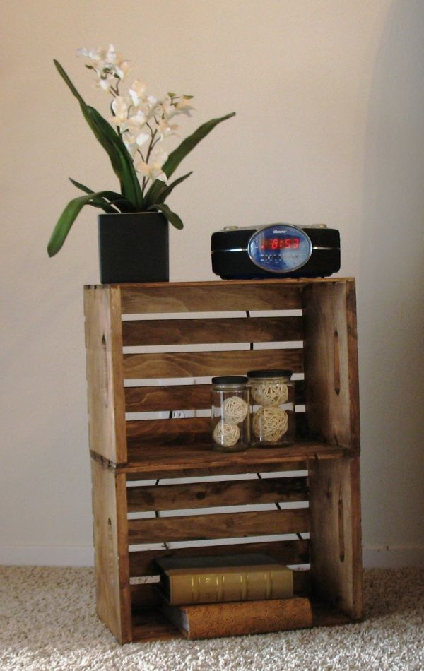Wood Night Stand Ideas