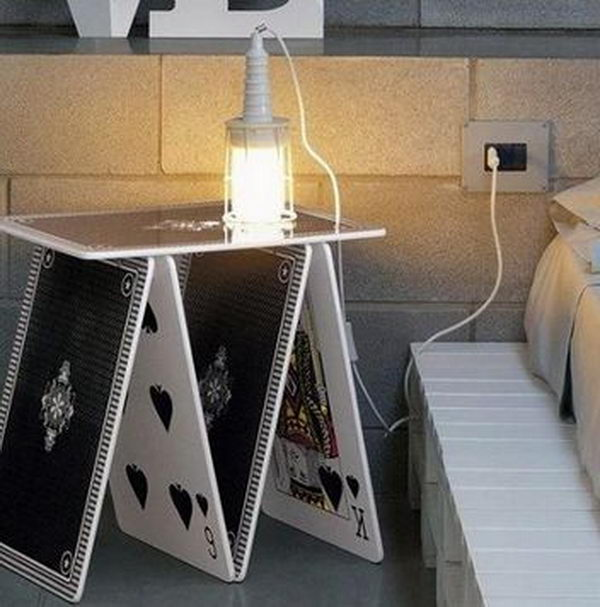 Creative Nightstand Ideas Part - 35: Creative Nightstand Which Makes Your Bedroom Looks More Interesting.