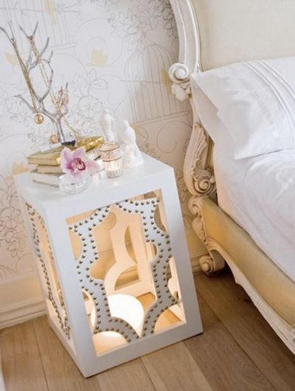 30 creative nightstand ideas for home decoration hative - Mesita de noche original ...