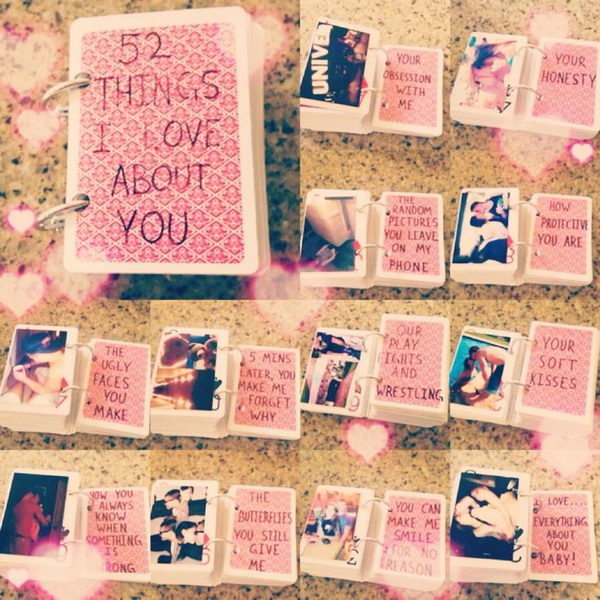 ... You About. http://hative.com/romantic-scrapbook-ideas-for-boyfriend