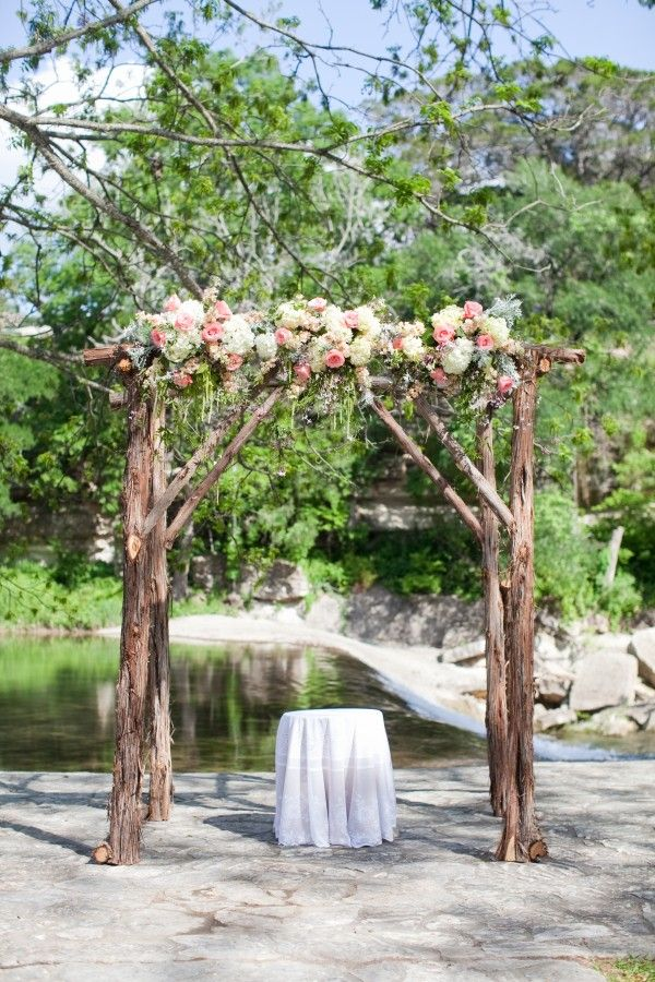 Rustic wedding arch decorations ideas quotes for Arch decoration for wedding
