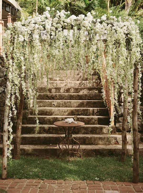 Pics Photos Rustic Archway Wedding
